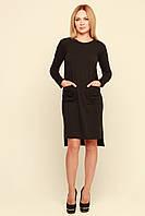 Черное молодежное платье Вивара