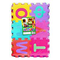 Коврик Мозаика M 0378  EVA, русский алфавит,  45-31, игровой коврик