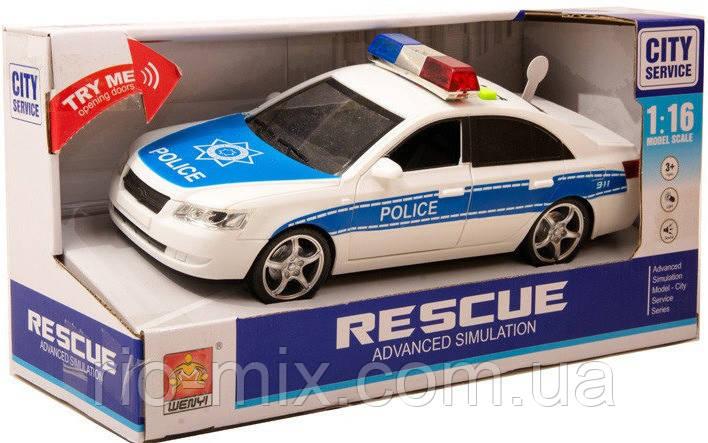 Машинка Полицейская Wenyi WY560A