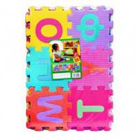 Коврик Мозаика M 0379 (20шт) EVA, украинский алфавит, 36шт, 45-31см, игровой коврик