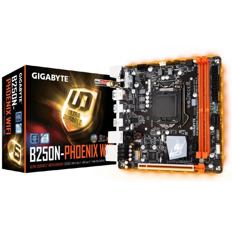 """Материнская плата GIGABYTE GA-B250N Phoenix-WIFI s.1151 DDR4 """"Over-Stock"""""""