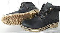 Мужские зимние кожаные ботинки СТ. Украина