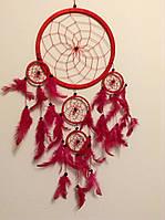 Ловець снів червоний, d-22 см