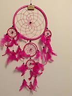 Ловець снів рожевий, d-22 см