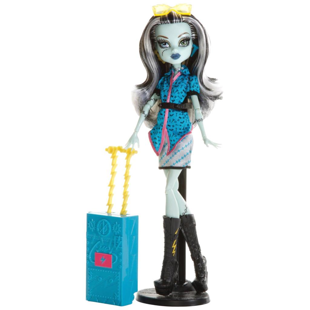 "П,Кукла Monster High Frankie Stein серия ""Travel Scaris"" Фрэнки Штейн"