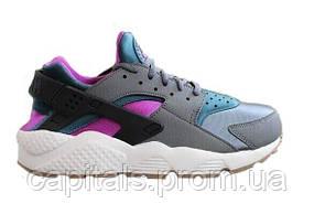 Женские кроссовки Nike Air Huarache Ultra Black/Blue/Violet (Уценка)