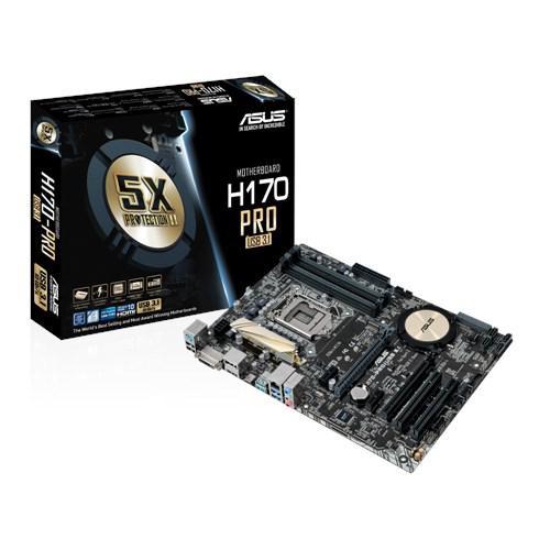 "Материнская плата ASUS H170-PRO/USB 3.1  Socket 1151 Intel Н170 ""Over-Stock""Б/У"