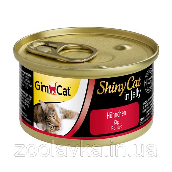 Консервы Gimpet ShinyCat Цыпленок
