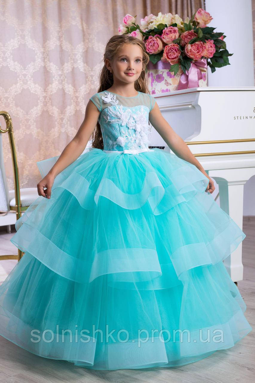 e81c5319870 Нарядное бальное платье для девочки 9775  продажа