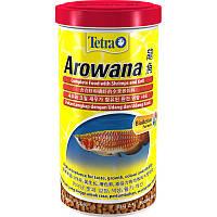 Корм TETRA (Тетра) AROWANA для рыб арован  , 1л