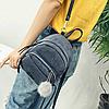 Модный вельветовый мини рюкзак Модный вельветовый мини рюкзак