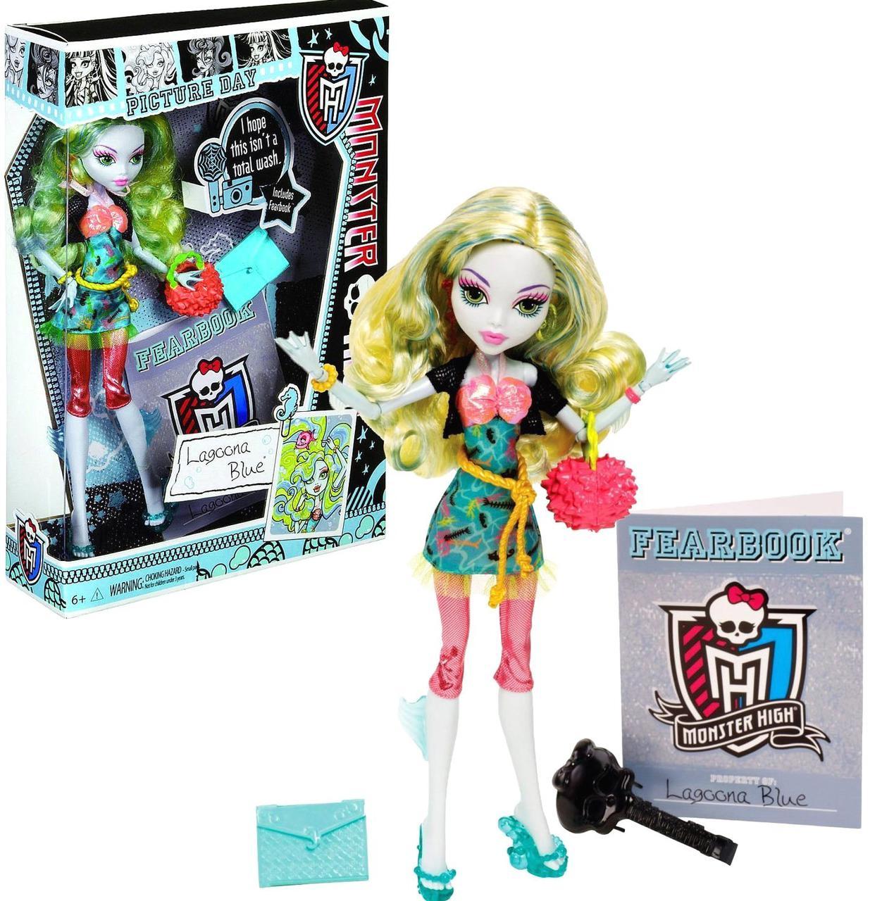 Кукла Monster High Lagoona Blue серия Picture DayЛагуна День фото