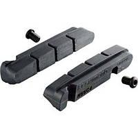 Тормозные резинки Shimano R55C4-A ULTEGRA/105 кассетн. фиксация для карбон. обода