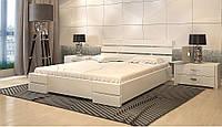 Кровать Дали Люкс бук  Арбор Древ (деревянная с низким изголовьем)