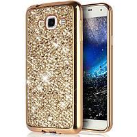Чехол для Galaxy J5 2015 / Samsung J500 Luxury Gold