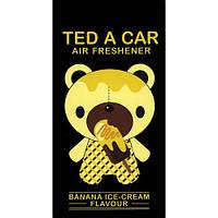 Ted A Car BANANA ICE CREAM - освежитель воздуха