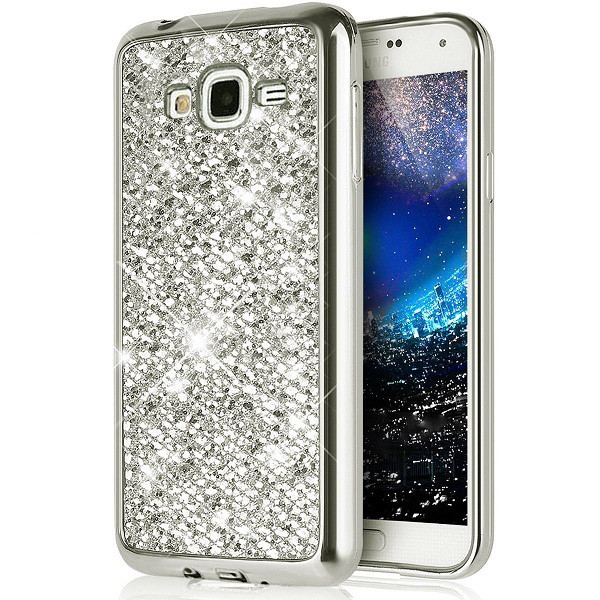 Чехол для Galaxy J5 2015 / Samsung J500 Luxury Silver