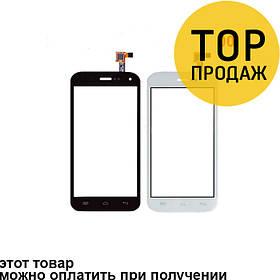 Сенсорный экран для мобильного телефона Explay A350, черный, ORIG