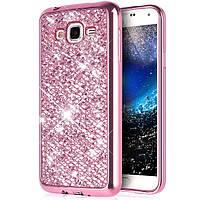 Чехол для Galaxy J5 2015 / Samsung J500 Luxury Pink