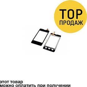 Сенсорный экран для мобильного телефона Explay A400, черный, ORIG