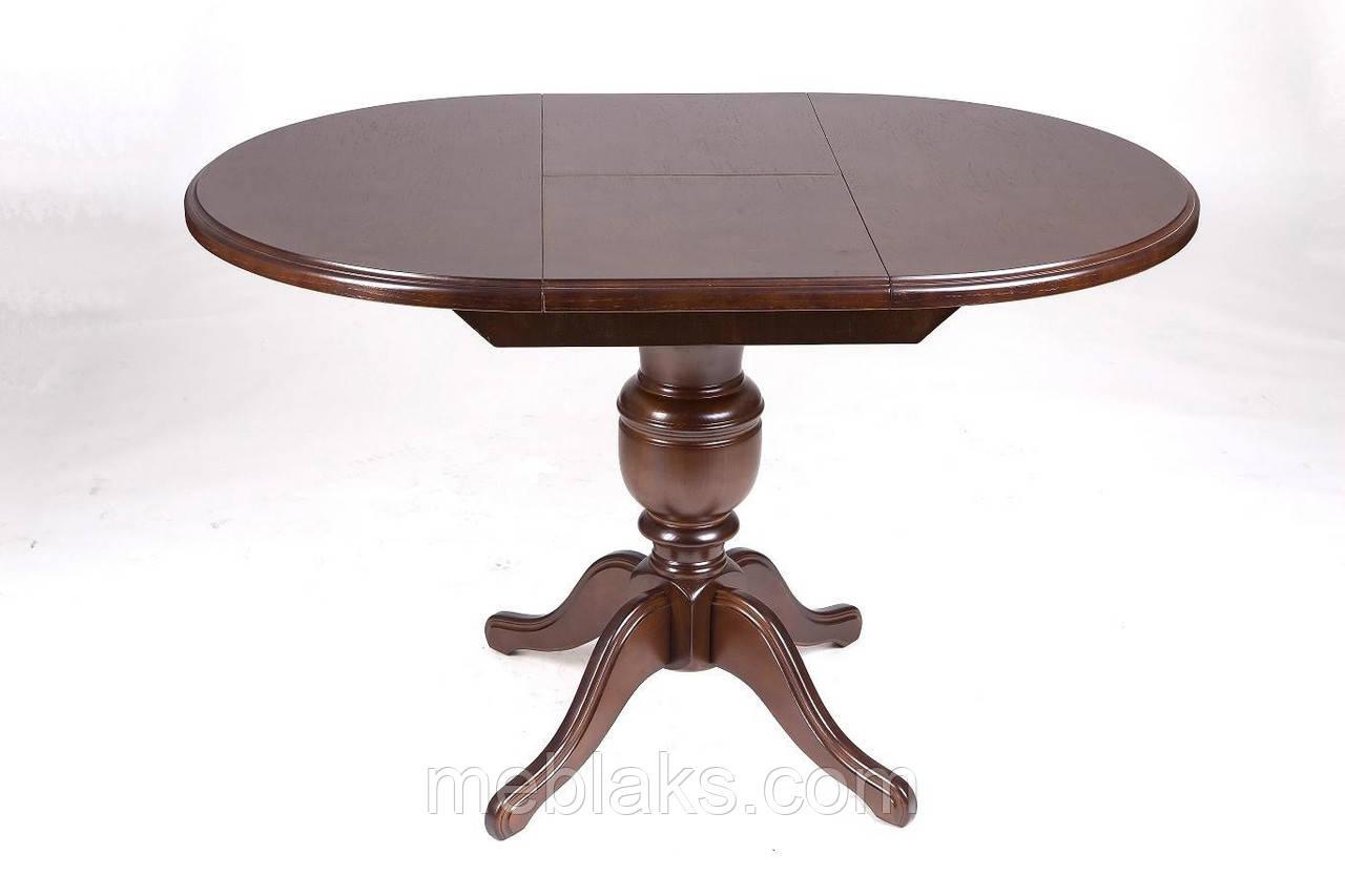"""Стол для гостинной деревянный раскладной """"Анжелика"""" 90(+42)x90х78,5 см Fusion Furniture"""