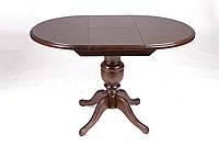 """Стол кухонный деревянный раскладной """"Анжелика"""" 90(+42)x90х78,5 см"""