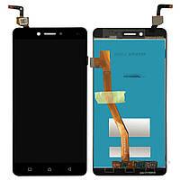 Дисплей (экран) для телефона Lenovo K6 Note K53a48 + Touchscreen Black