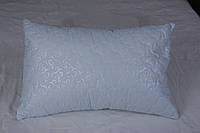Подушка с холлофайбером  микрофибра замком голубая - Подушка з холлофайбером мікрофібра із замком блакитна