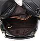 Сумка женская черная с брелком код 3-331-1, фото 10