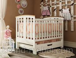 Деревянная кроватка Міа