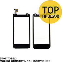 Сенсорный экран для мобильного телефона Explay Vega, черный
