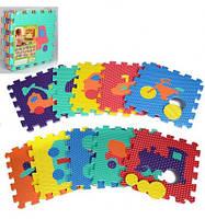 КОВРИК МОЗАИКА M 2621 EVA, игрвоой коврик для детей, развивающая игра