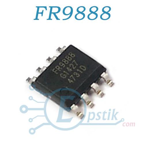 FR9888, синхронный преобразователь широкого спектра, 4.5-23В, 3A, 340KHz, SOP8