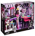 П, Monster High Beast Bites Cafe Draculaura Doll & Playset Игровой набор Дракулаура и Кафе Крипатерия, фото 4