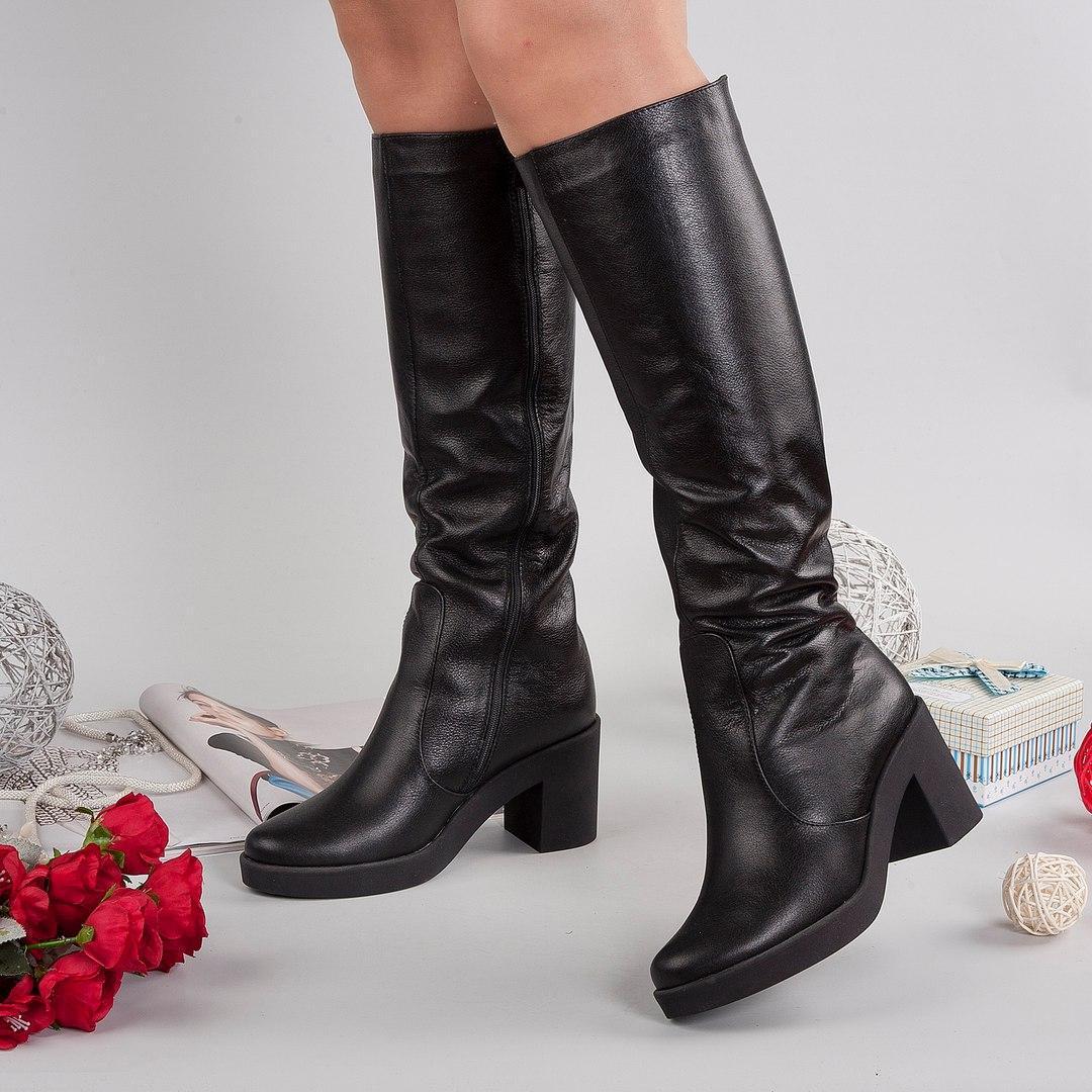 0e3ecac23 Женские кожаные зимние сапоги. Украина - Интернет-магазин