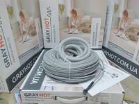 Нагревательный кабель GrayHot на 12,8 м.кв длиной 128 метров, фото 1