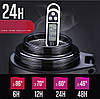 Термос большой 2 литра серебристый, фото 3