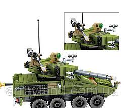 Конструктор военный танк, фото 3