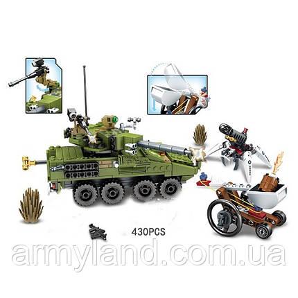 Конструктор военный танк, фото 2