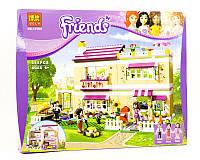 """Конструктор Bela Friends 10164 """"В гостях у Оливии"""" (Аналог Lego 3315), 695 деталей"""