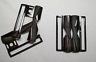 7705 Пряжка декоративная 4,5 см (черный)