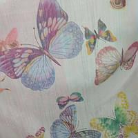 Тюль шифон Бабочки