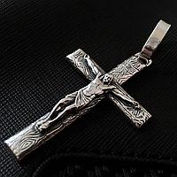 Серебряный крестик 925 пробы . 20 грамм