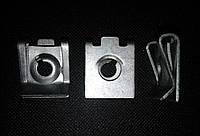 Скоба под саморез Audi / Opel / Ford / Renault / Skoda /VW (отв.4,8мм/16,5*20,5мм)
