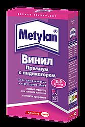 Клей для обоев для шпалер Metylan Винил Премиум с индикатором 300 г.
