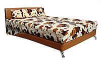 Кровать мягкая 160х200 Сафари с подъемным механизмом и матрасом