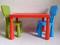 Детский игровой стол + 2 стула. В ЦВЕТАХ