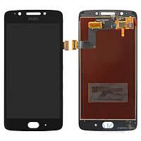 Дисплей (экран) для телефона Motorola Moto G5 XT1676 + Touchscreen Black