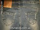 Джинсовые брюки для девочек  GRACE 116-146 р.р., фото 4