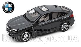 Модель автомобиля BMW X4 (F26), Sophisto Grey, Scale 1:18